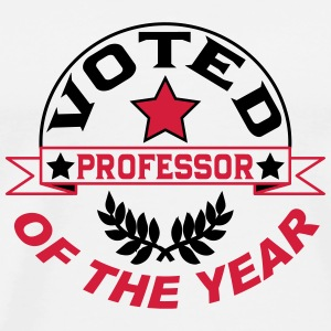 Voted professor of the year T-Shirts - Men's Premium T-Shirt