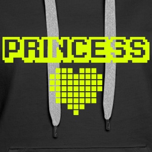 Geek Princess Sweat-shirts - Sweat-shirt à capuche Premium pour femmes