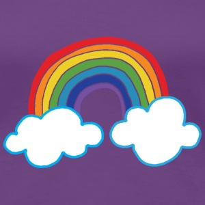 Rainbow Colors T-shirts - Premium-T-shirt dam