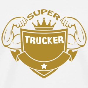 Super trucker T-Shirts - Men's Premium T-Shirt