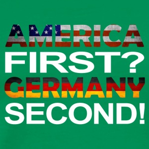 America first germany second - Männer Premium T-Shirt
