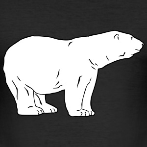 Polar Bear  - Eisbär T-Shirts - Männer Slim Fit T-Shirt