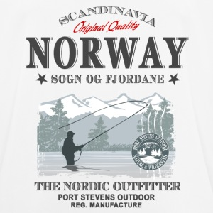 Norway Fishing T-Shirts - Männer T-Shirt atmungsaktiv