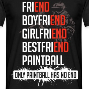 Paintball - No End  - Männer T-Shirt