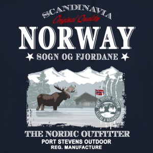 Norway Moose Pullover & Hoodies - Unisex Hoodie