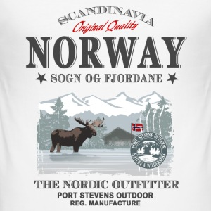 Norway Moose T-Shirts - Männer Slim Fit T-Shirt