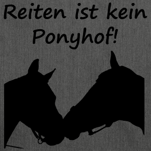 """Shirts mit Tier-Motiv """"Reiten ist kein Ponyhof"""""""