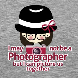 Love - Photographer Girl - Männer Premium T-Shirt