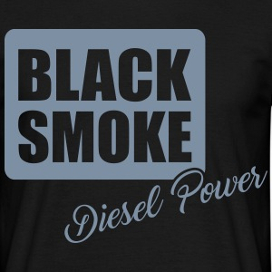 Black smoke diesel power T-Shirts - Men's T-Shirt