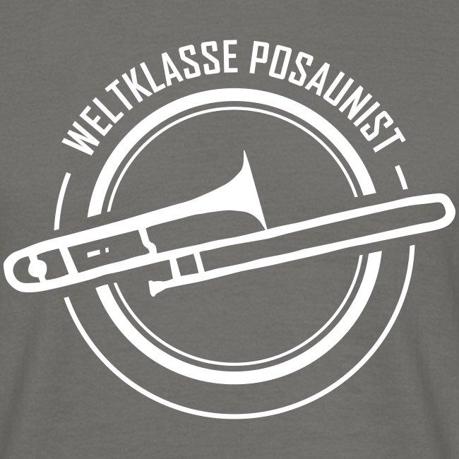 T-Shirt für weltbeste Posaunisten