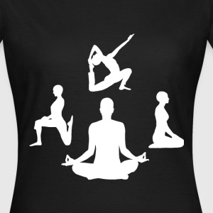 Pilates Yoga Meditation - Frauen T-Shirt