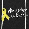Gelbe Schleife Hoodie - Leichtes Kapuzensweatshirt Unisex
