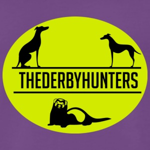 the derby hunters-yellow - Men's Premium T-Shirt