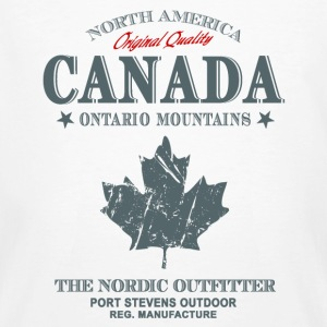 Canada -Maple Leaf T-Shirts - Männer Bio-T-Shirt