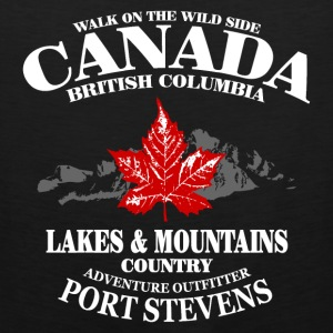 Canada - Maple Leaf & Mountain Sportbekleidung - Männer Premium Tank Top
