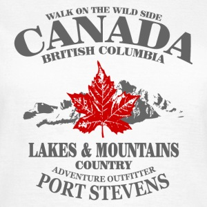 Canada - Maple Leaf & Mountain T-Shirts - Frauen T-Shirt