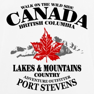 Canada - Maple Leaf & Mountain T-Shirts - Männer T-Shirt atmungsaktiv