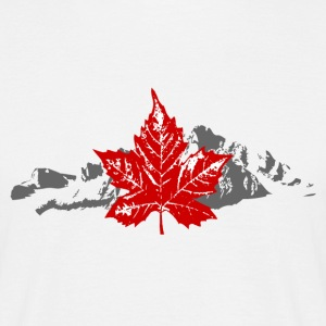 Canada - Maple Leaf & Mountain T-Shirts - Männer T-Shirt