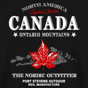 Canada - Maple Leaf & Mountain Pullover & Hoodies - Männer Pullover