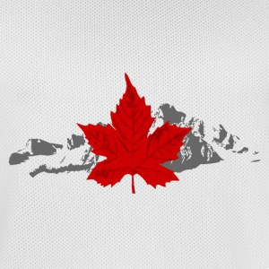 Canada - Maple Leaf & Mountain Sportbekleidung - Männer Basketball-Trikot