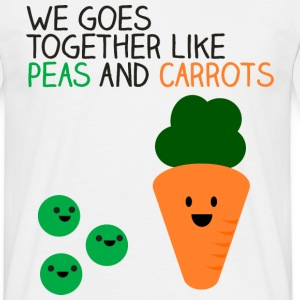 Peas and Carrots T-Shirts - Men's T-Shirt