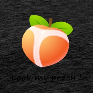 Look my peach - T-shirt Premium Homme