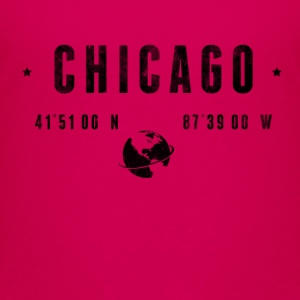 Chicago T-shirts - Børne premium T-shirt