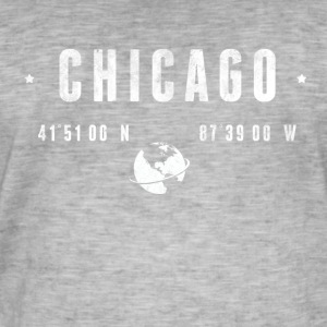 Chicago T-skjorter - Vintage-T-skjorte for menn