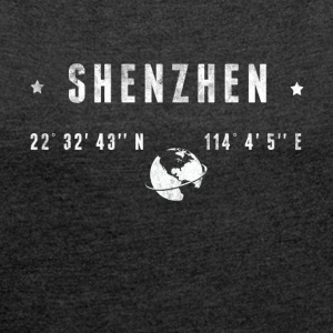 Shenzhen  T-Shirts - Women's T-shirt with rolled up sleeves