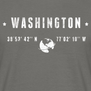 Washington T-skjorter - T-skjorte for menn