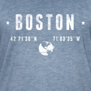 Boston Tee shirts - T-shirt vintage Homme