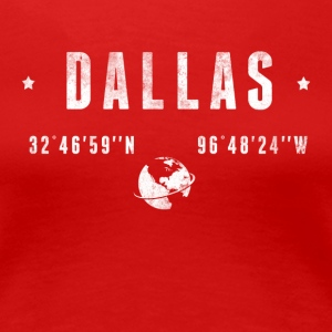 DALLAS T-Shirts - Women's Premium T-Shirt