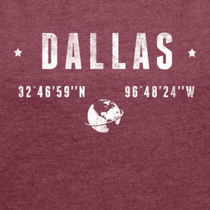 DALLAS T-Shirts - Women's T-shirt with rolled up sleeves