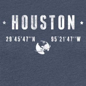 Houston  T-Shirts - Frauen Premium T-Shirt
