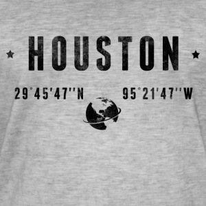 Houston T-skjorter - Vintage-T-skjorte for menn