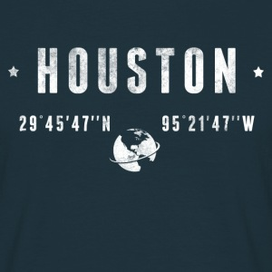 Houston  T-shirts - Herre-T-shirt