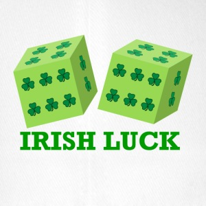 Irish Luck with Shamrock Dice - Flexfit Baseball Cap