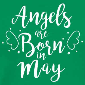 Angels are born in May - Männer Premium T-Shirt