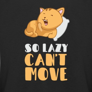 So lazy, can't move me Long Sleeve Shirts - Kids' Premium Longsleeve Shirt