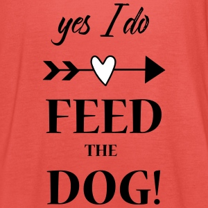 feed the dog Tops - Frauen Tank Top von Bella