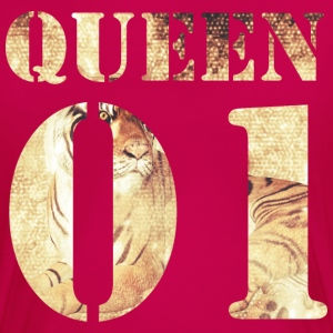 Queen01 - Tiger T-Shirts - Frauen Premium T-Shirt