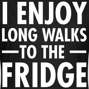 I Enjoy Long Walks To The Fridge T-shirts - T-shirt dam