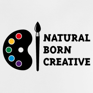 Natural Born Creative (PNG) Baby Shirts  - Baby T-Shirt