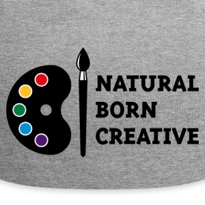 Natural Born Creative (PNG) Caps & Hats - Jersey Beanie