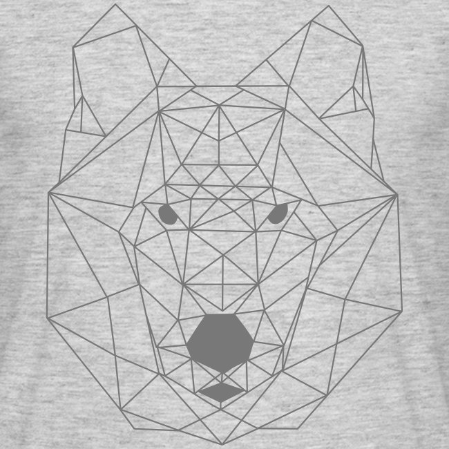 T-shirt homme Loup