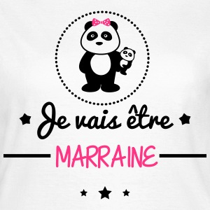 Bientôt marraine, Future marraine  - T-shirt Femme