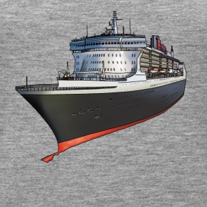 Cruise ship Top - Canotta premium da donna