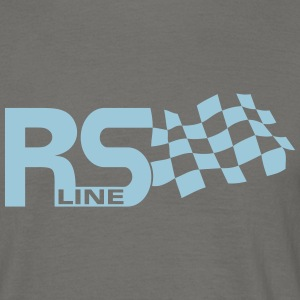 RS Line Flag Auto Union T-Shirts - Männer T-Shirt