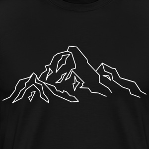 Mountain Icon T-Shirts - Men's Premium T-Shirt