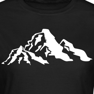 Mountain Icon T-Shirts - Women's T-Shirt